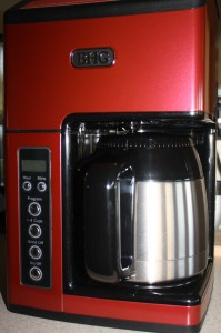 BHG Grind and Brew Coffeemaker