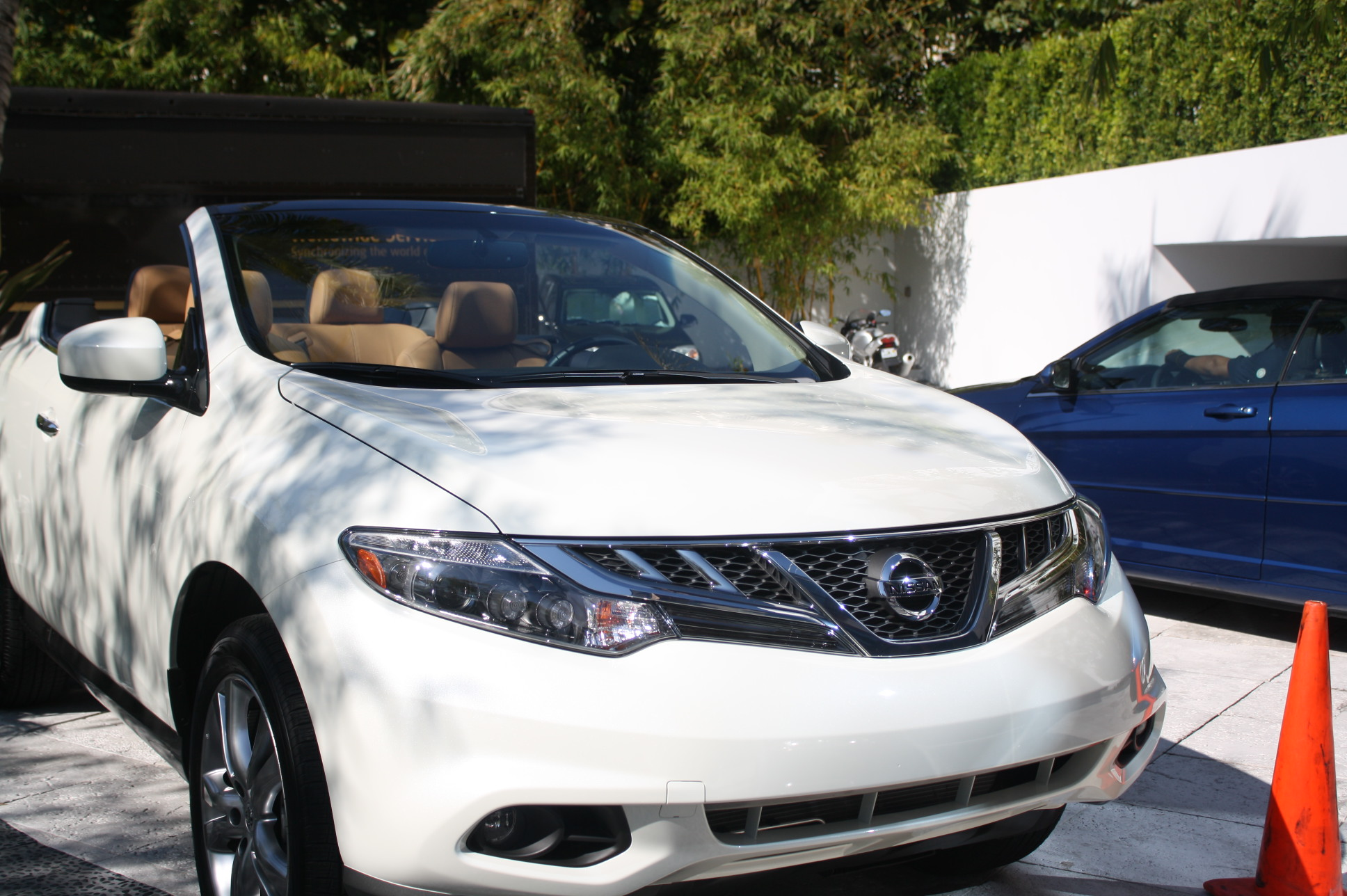 A glimpse at the Murano CrossCabriolet