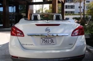 white Nissan CrossCabriolet