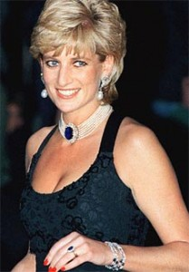 Princess Diana in sapphires