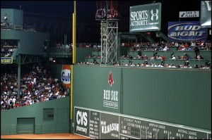 Fenway Park Green Monster
