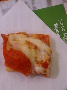 pizza sample