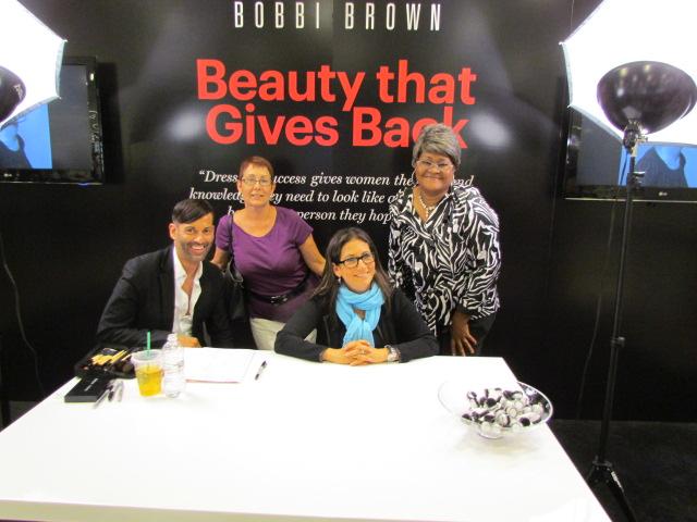 Bobbi Brown visits Miami