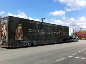 John Frieda tour