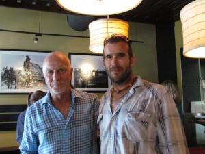Dennis Max and Farmer Jay