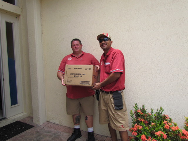 My Nutrisystem delivery