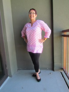 tunic with tights