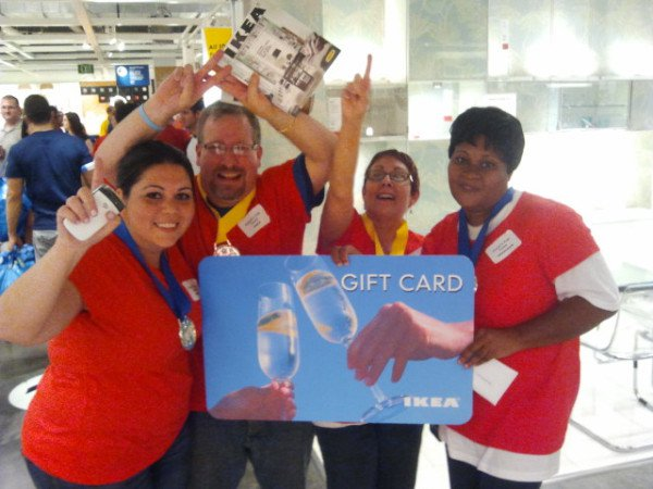 Jewels Fab Team winners of the Ikea Capture the Catalog Challenge