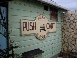 Pushcart restaurant Negril