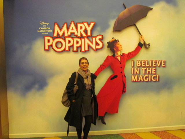 The bright lights of Broadway – Mary Poppins
