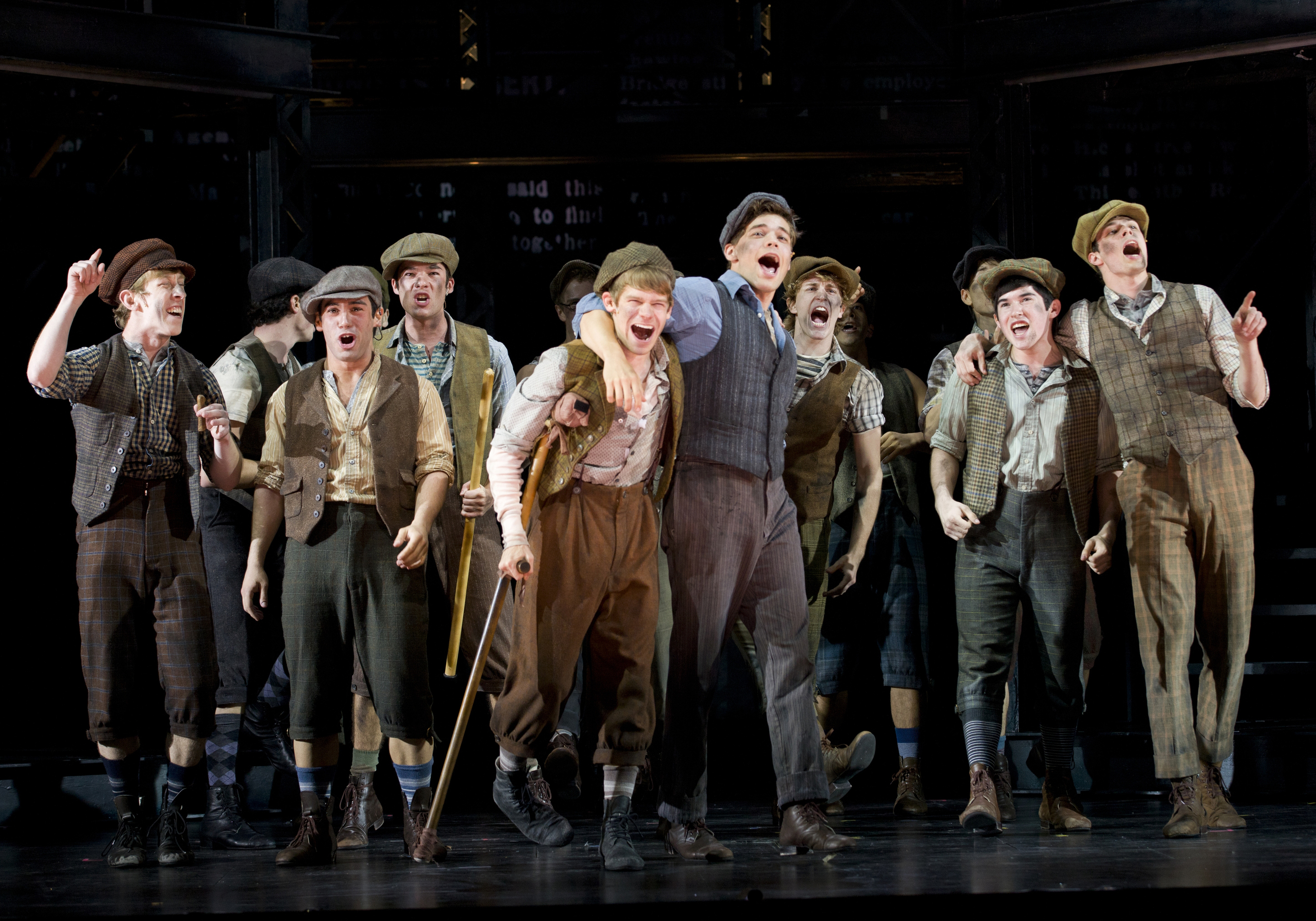 Newsies hits Broadway in March