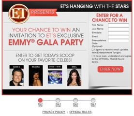 If you could go to the Emmy Gala Party