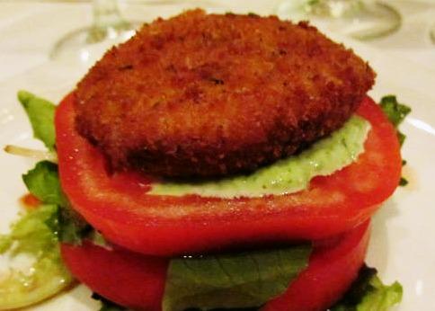 Tomato Salad Champagne Living