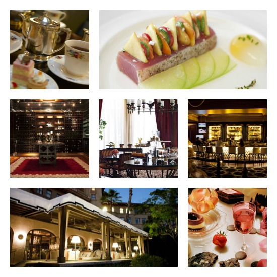 langham dining Collage