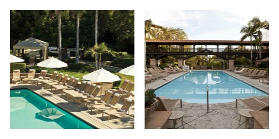 langham pool Collage