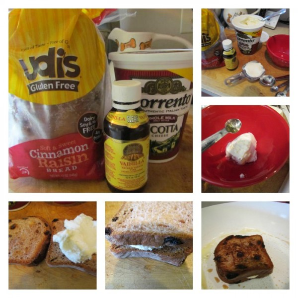 Ricotta sandwich Collage