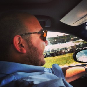 Behind the wheel of the 2014 Lexus IS at Rockingham
