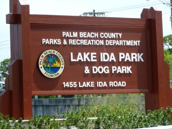 lake ida dog park