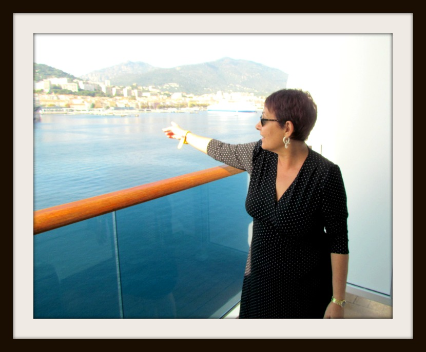 Karina in Corsica