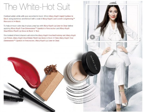 white hot suit