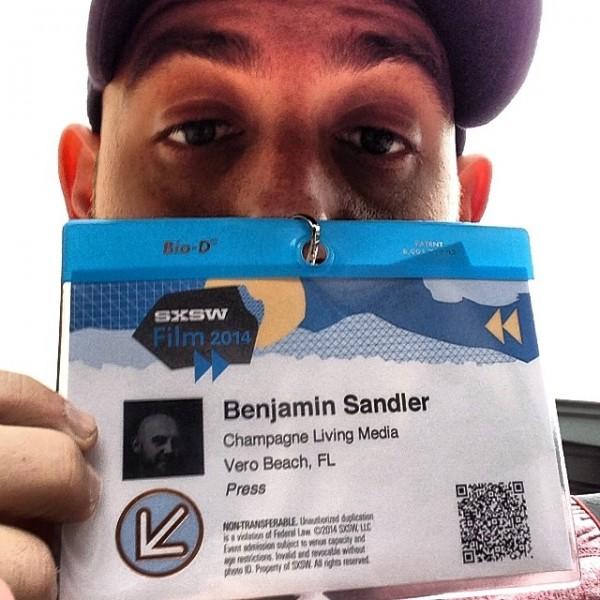 ben sxsw badge