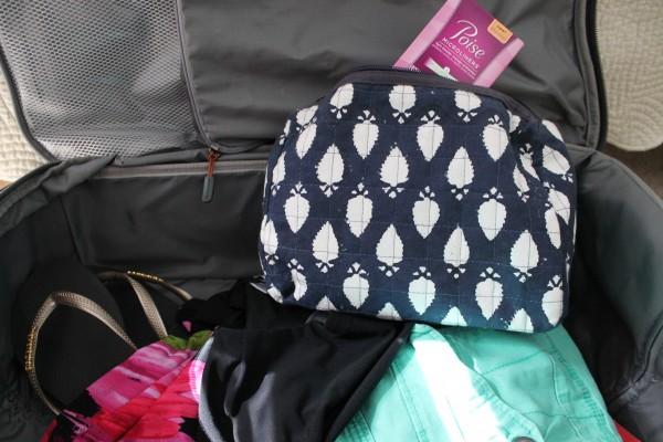 Poise Microliner packing #SAMinYourPants