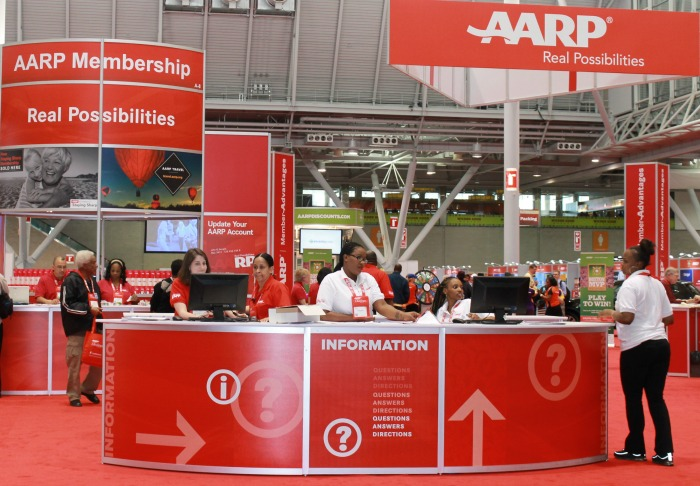 aarp booth