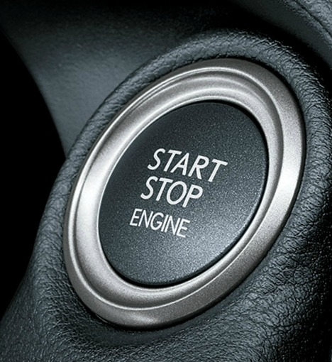 start button - lexus isf