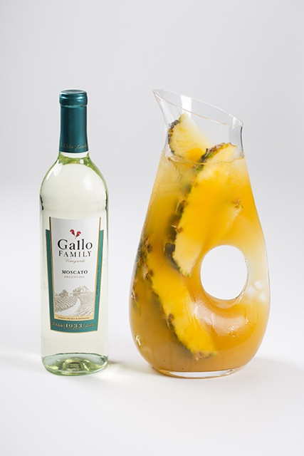GFV Pineapple Moscato Rum Punch and Bottle 1