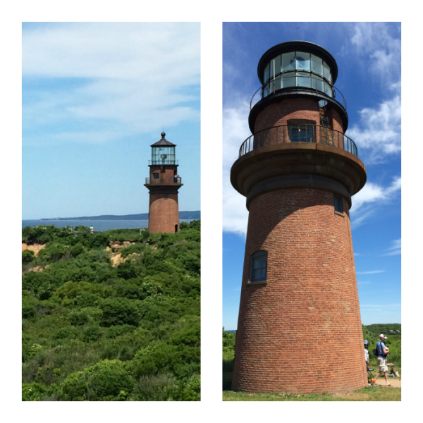 gay head lighthouse Collage