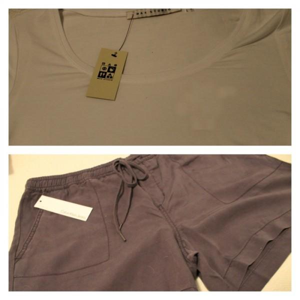 t shirt & shorts