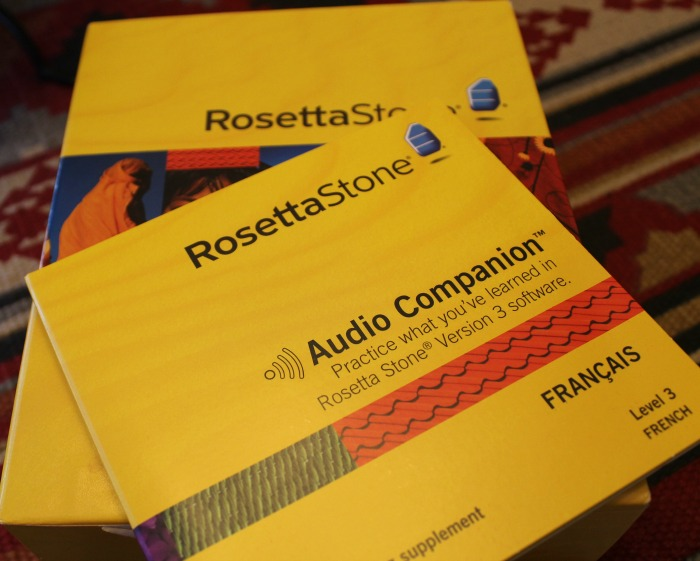 I bought Rosetta Stone FRENCH to begin #1 on my bucket list.