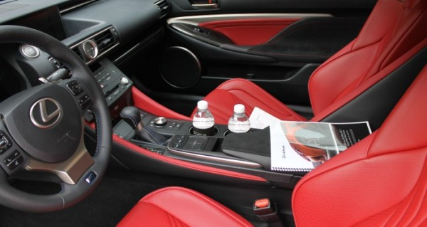 cropped red interior