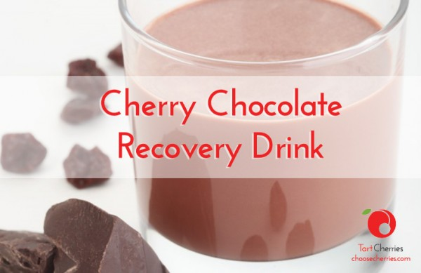 Cherry Chocolate Recovery Drink