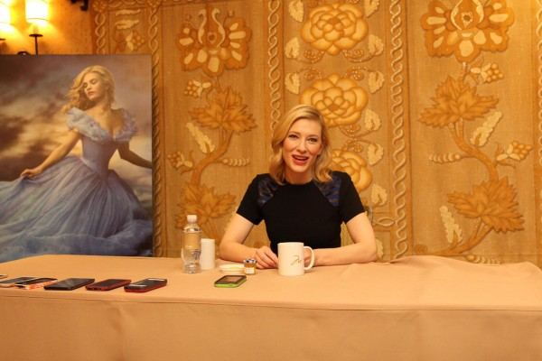 cate blanchett at interview