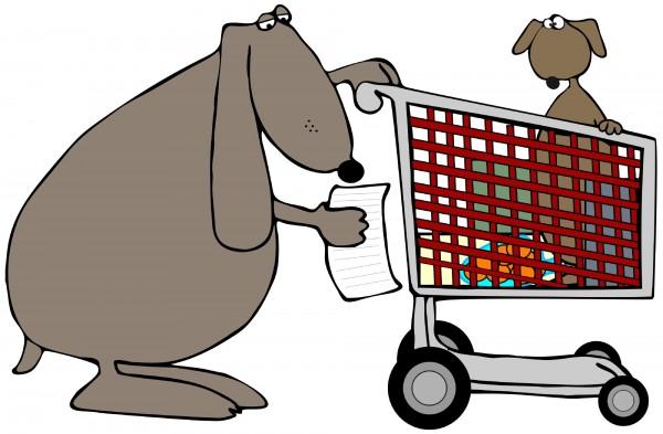 dogshoppingcart