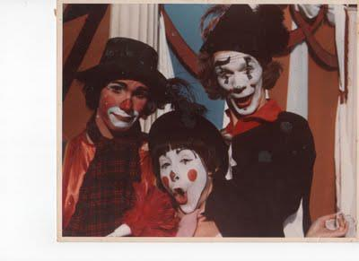 I even worked as a clown for a while.