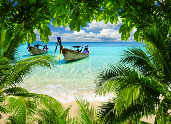 This is what I dream of...a beautiful beach in Thailand.