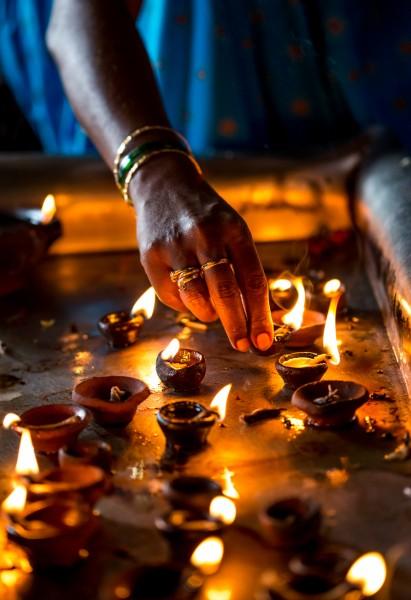 Diwali – the festival of lights.
