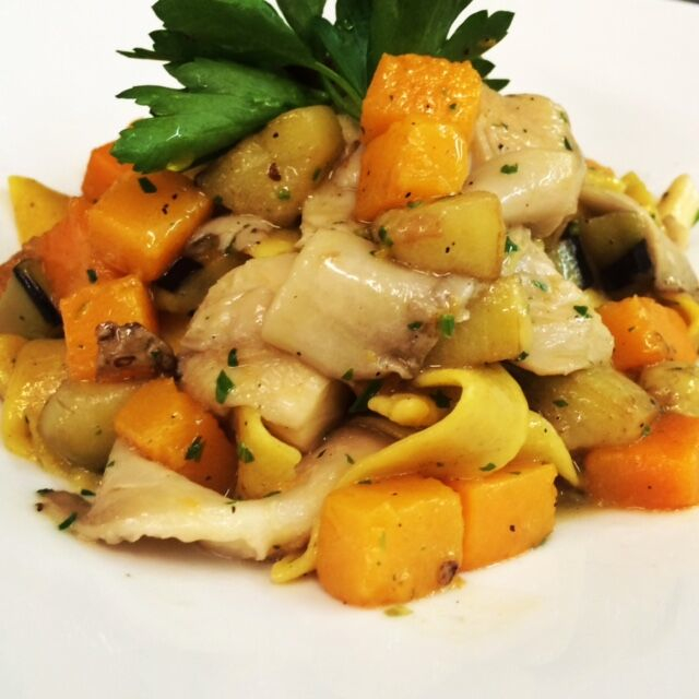 Image 2- Fettuccine with Roasted Butternut Squash