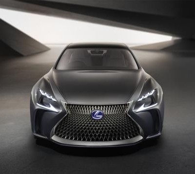 Lexus LF-FC on the horizon
