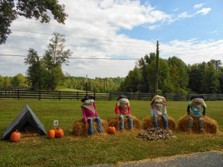 Photo courtesy of Trail of Scarecrows, Bowling Green, KY