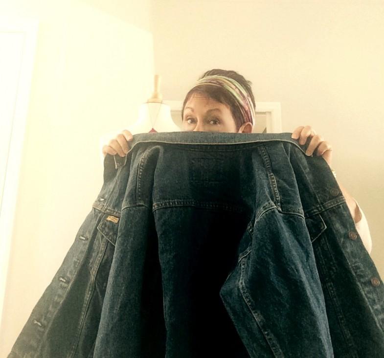jean jacket hide