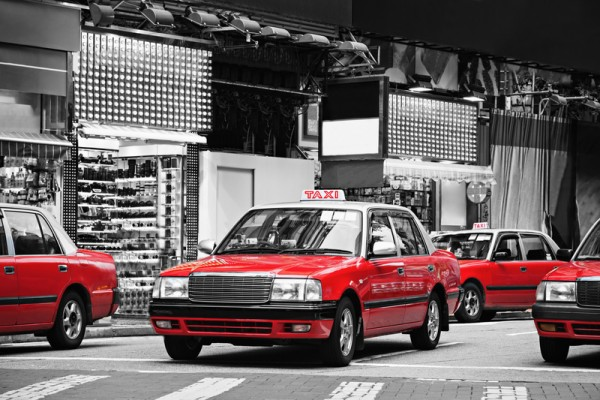 Taxis, Hong Kong