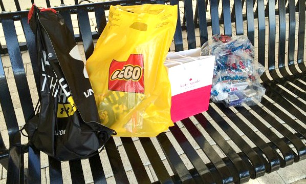 shopping done