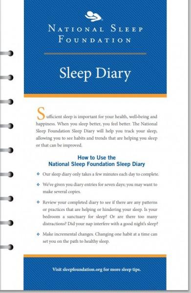 Photo: The National Sleep Foundation