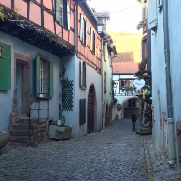 The beautiful Riquewihr
