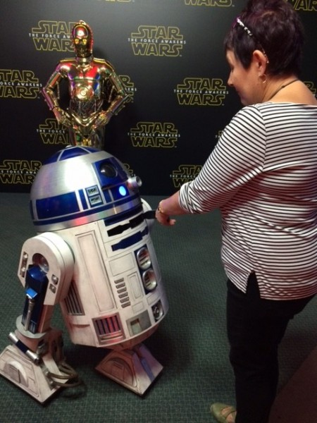 conversation with R2D2