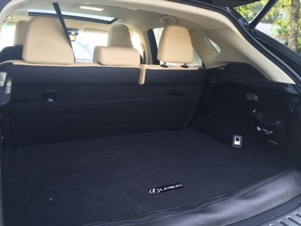 Lexus NX 300h trunk