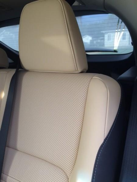 back seat lexus nx 300h